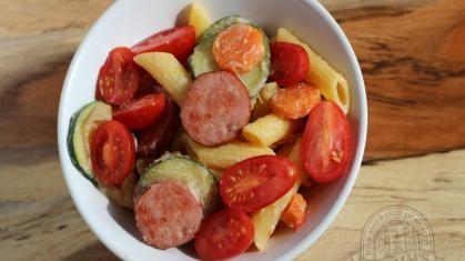 Gluten Free Farmer Sausage Citrus Penne