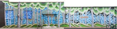 Granary Grove by Megan Meier | Public Art Archive | Laramie, WY | Laramie Mural Project