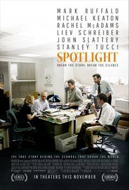 Spotlight - The true story of how the Boston Globe uncovered the massive scandal of child molestation and cover-up within the local Catholic Archdiocese, shaking the entire Catholic Church to its core.This could have been so much better than it actually was.