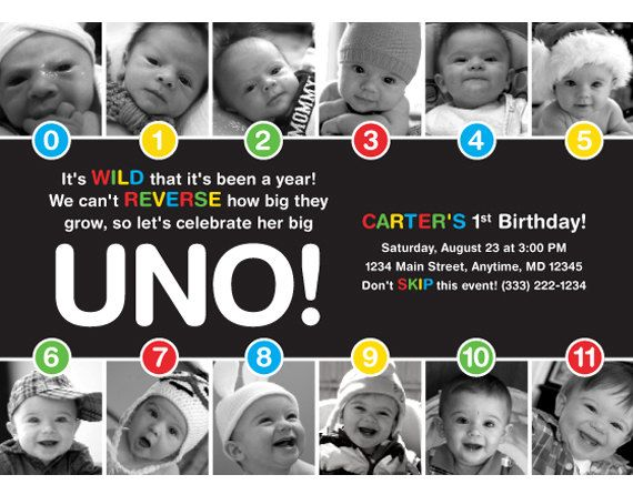 43 best Evanu0027s First Birthday Ideas images on Pinterest - invitation card for ist birthday