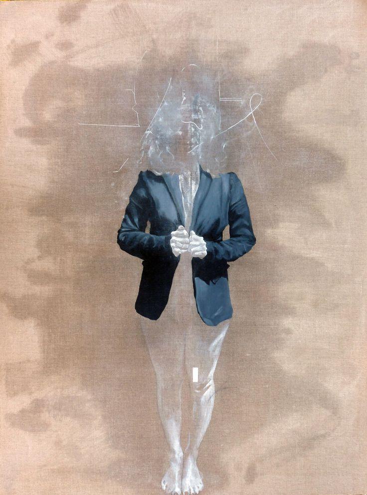 558 INO ONI VIOLAINE  Huile sur toile (97x130(2012)