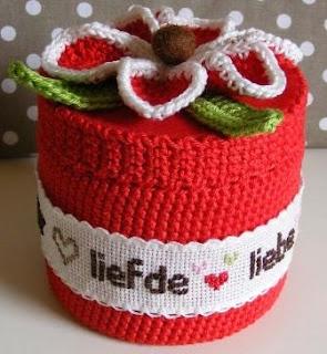 #giftbox #crochet #flower