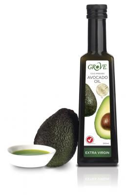 Grove's Avocado Oil - Such a refreshing summery oil with a soft lime flavour. I adore this in a rocket salad with white wine vinegar.