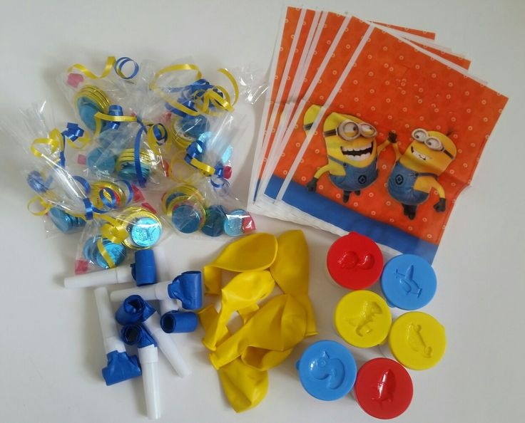 Minions Party Bags supplied by Shoalhaven Kids Parties