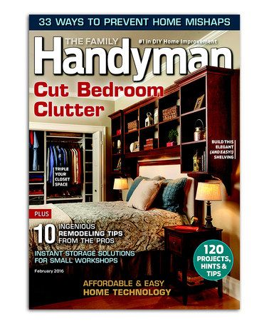 Another great find on #zulily! The Family Handyman Magazine Subscription #zulilyfinds