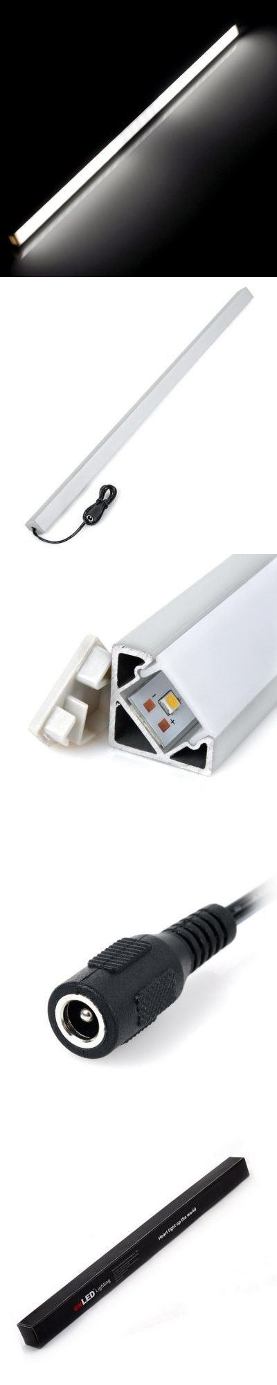 LED Strips | 50cm 600LM 7W 30 SMD 3528 LEDs Tube Light Bar Frost Light Strip ( 4500K 24V )