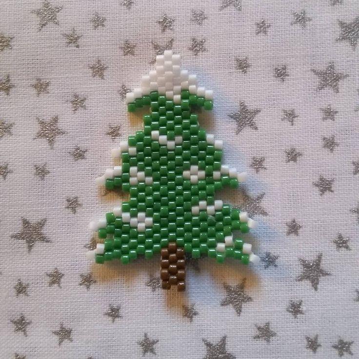 brick stitch tree