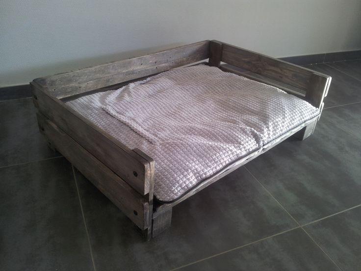 Panier pour chien chiens pinterest - Comment fabriquer un lit pour chat ...