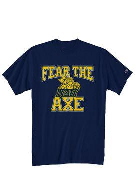 Trigger a few goose bumps with this Fear inspiring NAU t-shirt.