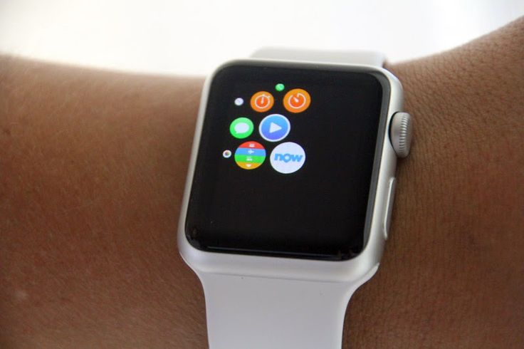 Apple Watch avec application Booking Now