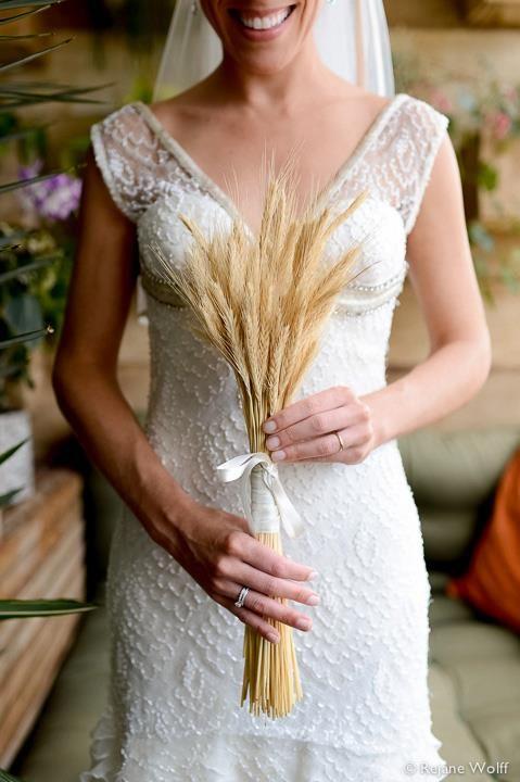 Bouquet de trigo.