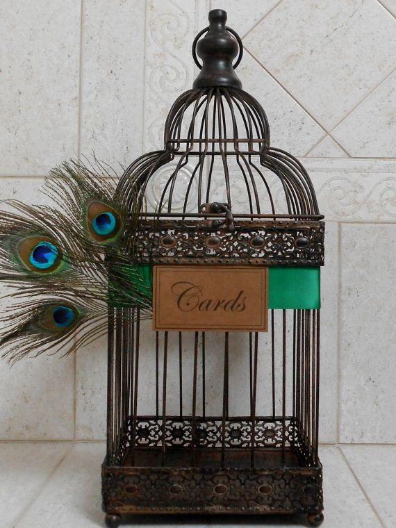 Hey, j'ai trouvé ce super article sur Etsy, chez https://www.etsy.com/fr/listing/267002839/paon-sur-le-theme-mariage-birdcage-porte