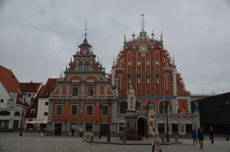 Zwarthoofdenhuis in Riga
