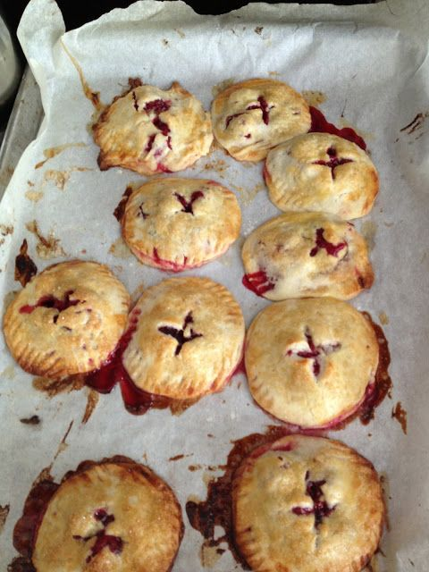 Cranberry Hand Pies   The Holidays!   Pinterest