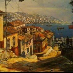 Resultado de imagen para valparaiso casas botes pinturas