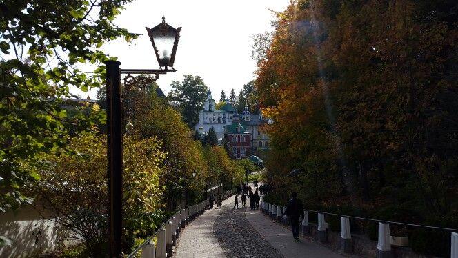 Псково-Печерский монастырь.