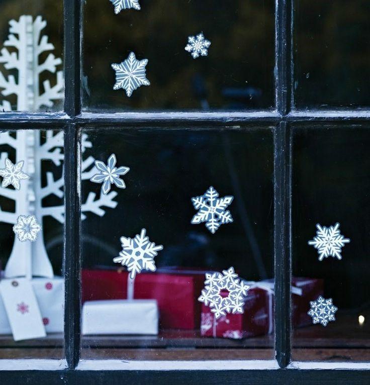 best 25 weihnachtsdeko fenster ideas that you will like. Black Bedroom Furniture Sets. Home Design Ideas