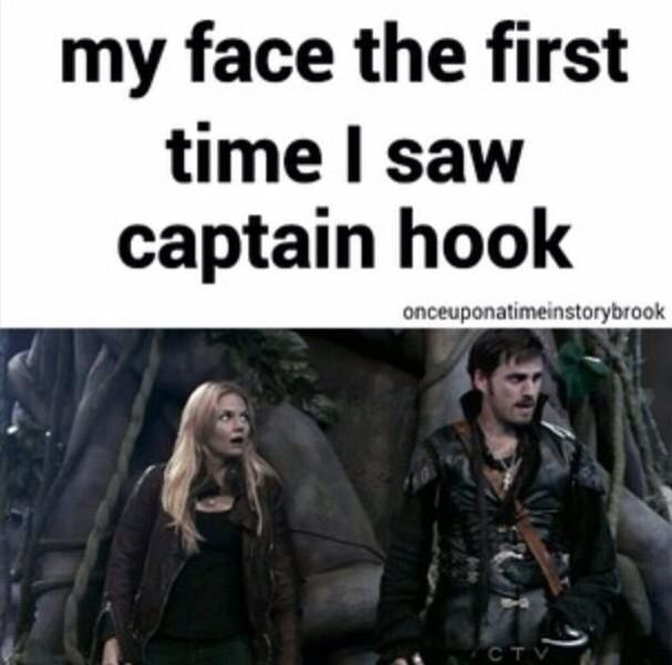 I think it pretty much describes ALL of our faces...when we saw this man but the best part was when he spoke...I think him and Emma are perfect for each other...anyone else agree?