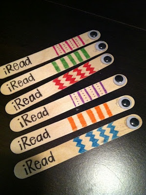 ilove this idea!!!! :) iRead sticks for tracking...and keeping focus!