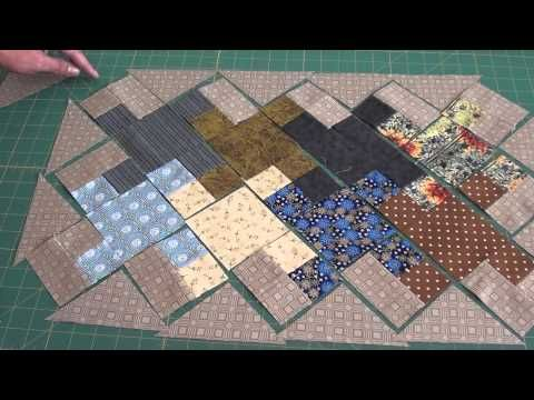 Jogo Americano Part 2- Bloco Tessellating Crosses - YouTube