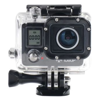 ซื้อเลย  AMKOV AMK5000S 20MP 1080P Wifi Waterproof 30M Shockproof 170°WideAngle Outdoor Action Sports Camera Camcorder Digital Cam Video HDDV Car DVR - intl  ราคาเพียง  4,701 บาท  เท่านั้น คุณสมบัติ มีดังนี้ 20 MP CMOS-Sensor with 170 degree wide angle HD lens shootsatfull 1080P resolution at 30fps. With super mini size, you even can t feel it when using it onahelmet. With built-in WiFi, you can control the camera by APPafterconnected. Supports for Micro SD card up to 64GB (not included)…
