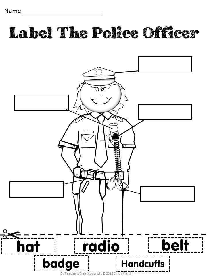 119 best Police activities for Kids/ work images on
