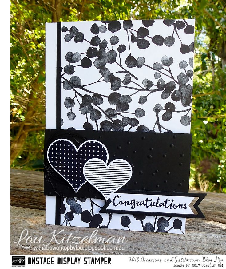 Welcome to theStampin' Up! 2018 Occasions + Sale-A-Bration Display Stamper Blog Hop. We are Stampin' Up! Demonstrators from all around ...