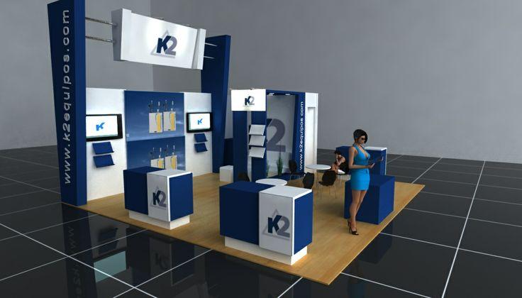 Cliente: 2K Ingeniería Stand Corporativo