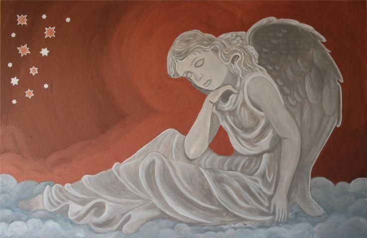 angel // acryl // canvas.