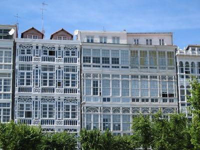 Galerías de la marina. A Coruña