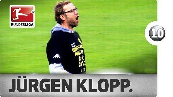 Niemiecki trener w niecodzienny sposób pokazuje swoją radość • Top 10 najlepsze celebracje Jurgena Kloppa w Borussii Dortmund >> #klopp #bvb #borussia #football #soccer #sports #pilkanozna #funny