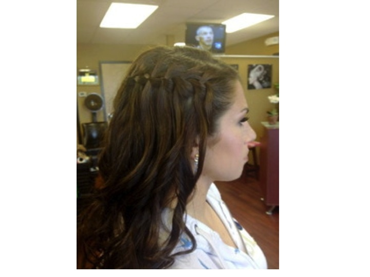 Bridal Hair and Wedding Make-up.   If you need your hair and makeup done go to www.glossandglam.com or call 646.488.8228 for bookings.