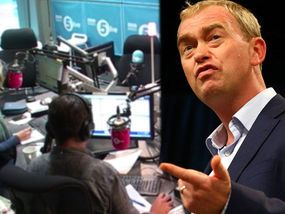 Tim Farron has been slapped down live on air as he was savaged for refusing to accept Brexit