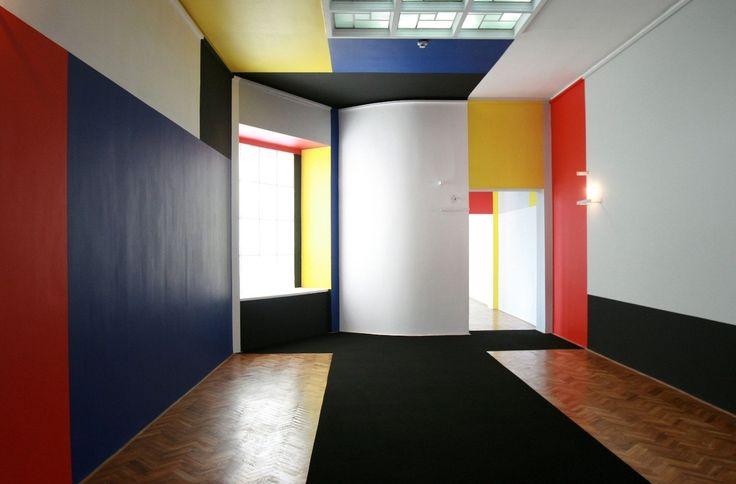 Władysław Strzemiński, Neoplastic Room, Muzeum Sztuki in Łódź, Poland, 1946 #lodz