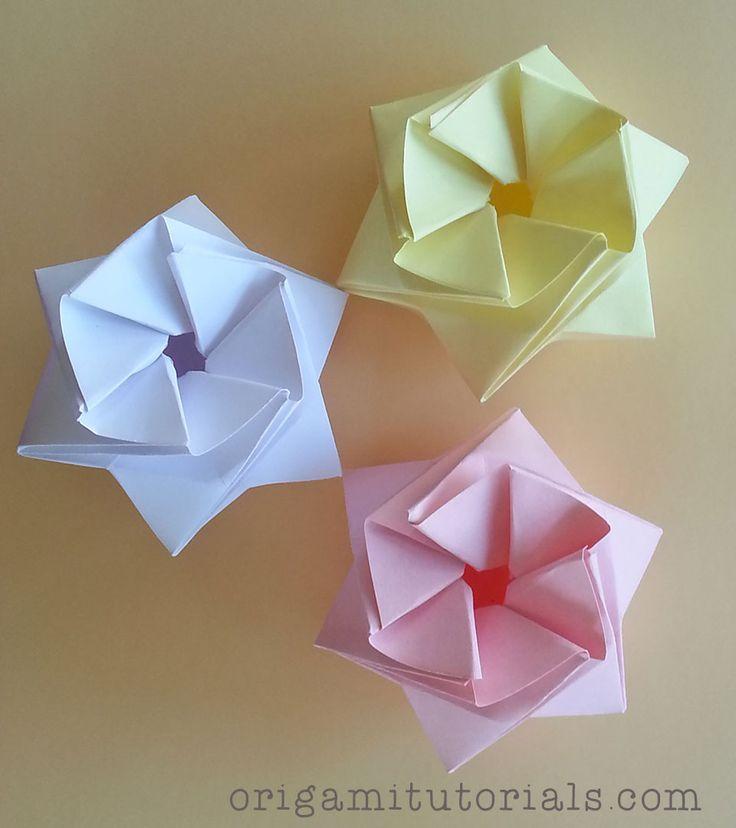 Origami StarPuff Box Tutorial   Origami Tutorials