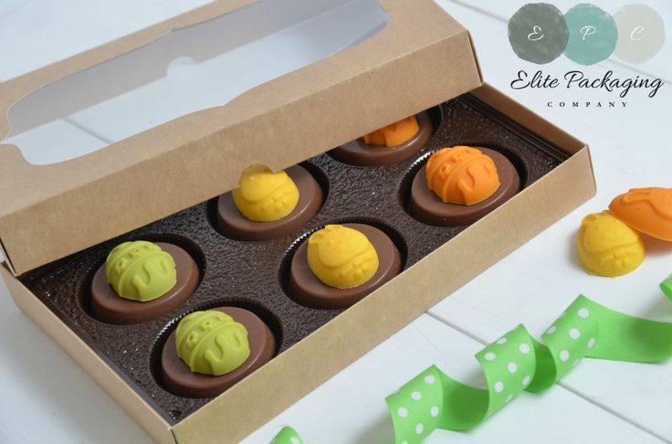 Biscuit packaging, Ideal for use with chocolate covered oreos®, biscuits or decorated confectionery www.elitepackagingcompany.co.uk