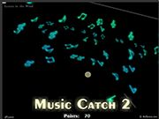Music Catch 2 - My Happy Games - Free online Skill game