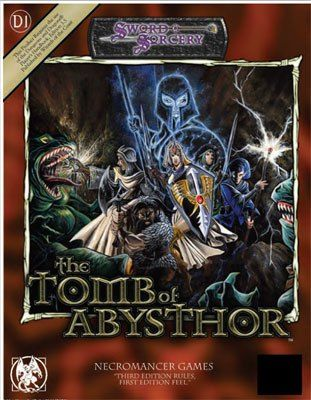 The Tomb of Abysthor, an old style killer dungeon from Necromancer Games. #RPG