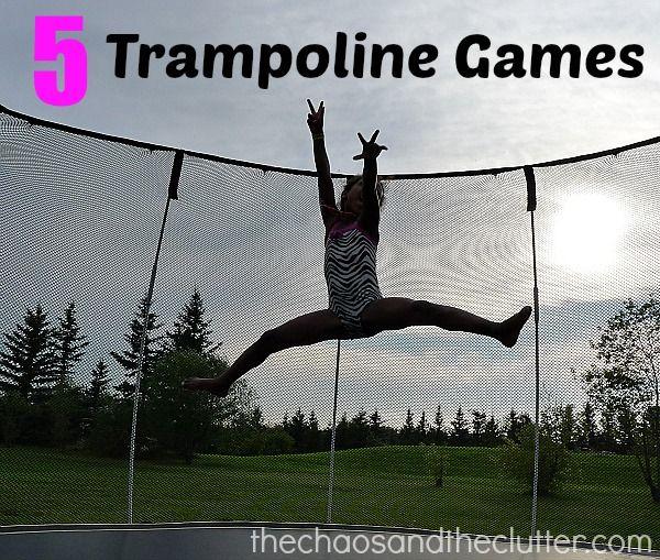 5 Trampoline Games (plus 5 bonus activities)