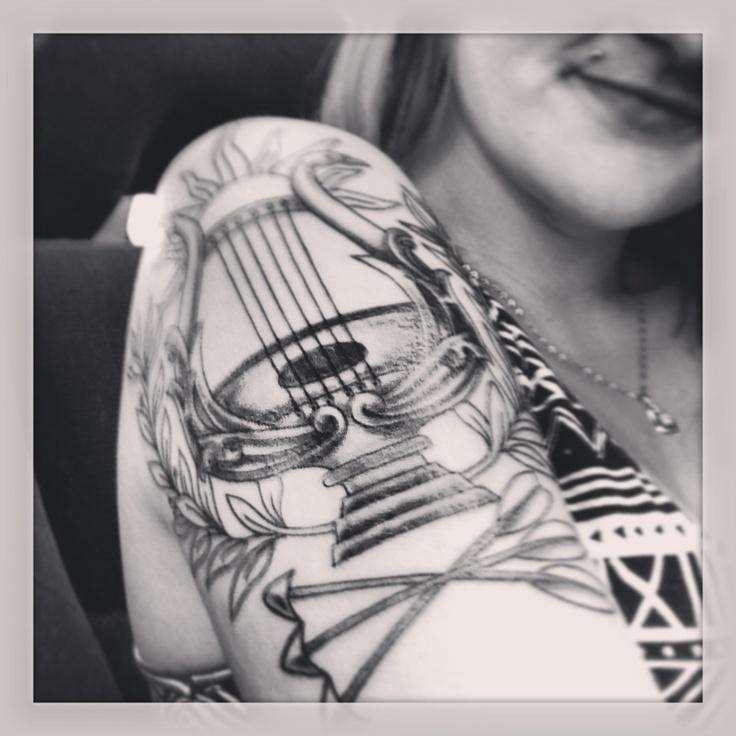 Greek mythology tattoo :) tribute to Apollo! | awesome ...