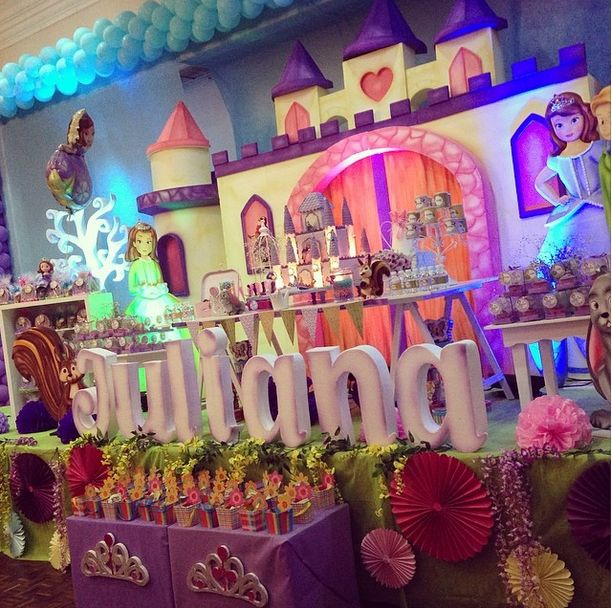 157 best princesa sofia party images on Pinterest | Birthday party ...