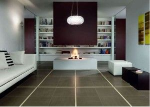 Granite Flooring To Beautify Your Living Room6