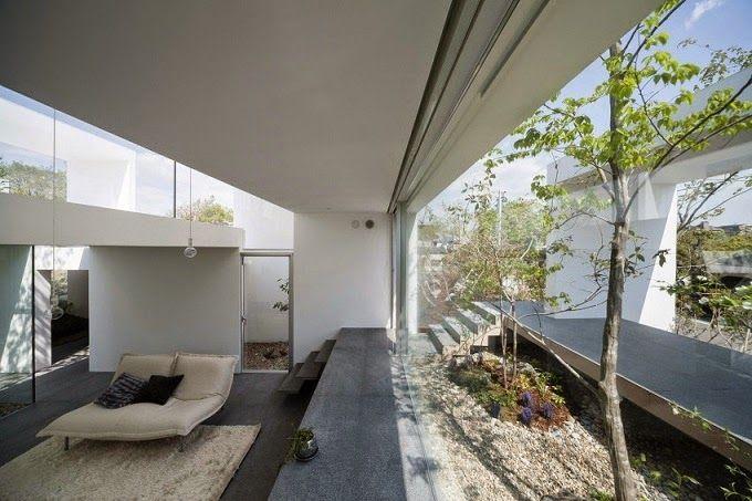 Casa cosmic arquitectura minimalista uid jap n for Casa minimalista japon