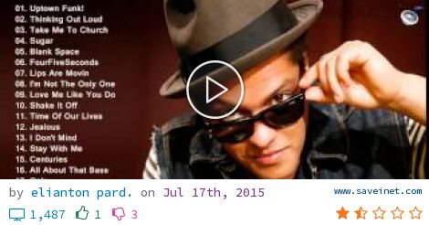 THE BEST SONGS OF BRUNO MARS FULL ALBUM BRUNO MARS