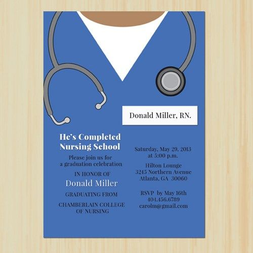 Medical Graduation Invitations with best invitations example