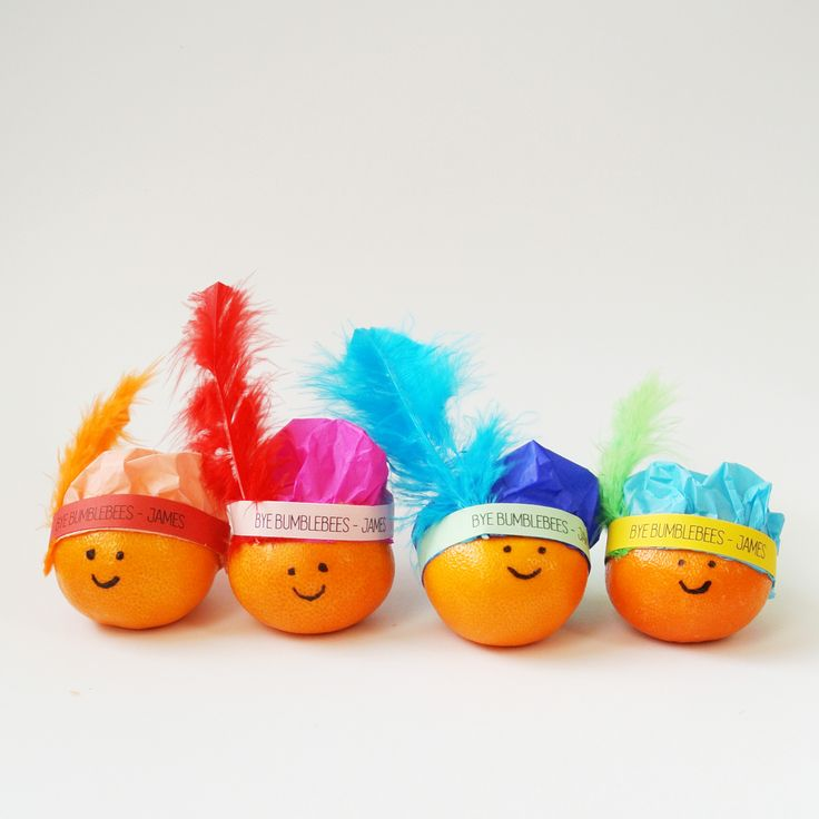 Gezonde Sinterklaas traktatie: mandarijnen pietjes!