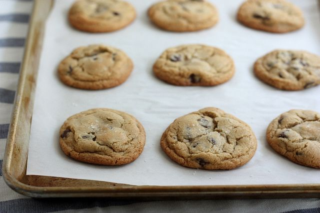 Brown Butter Chocolate Chip Cookies by Completely Delicious, via Flickr