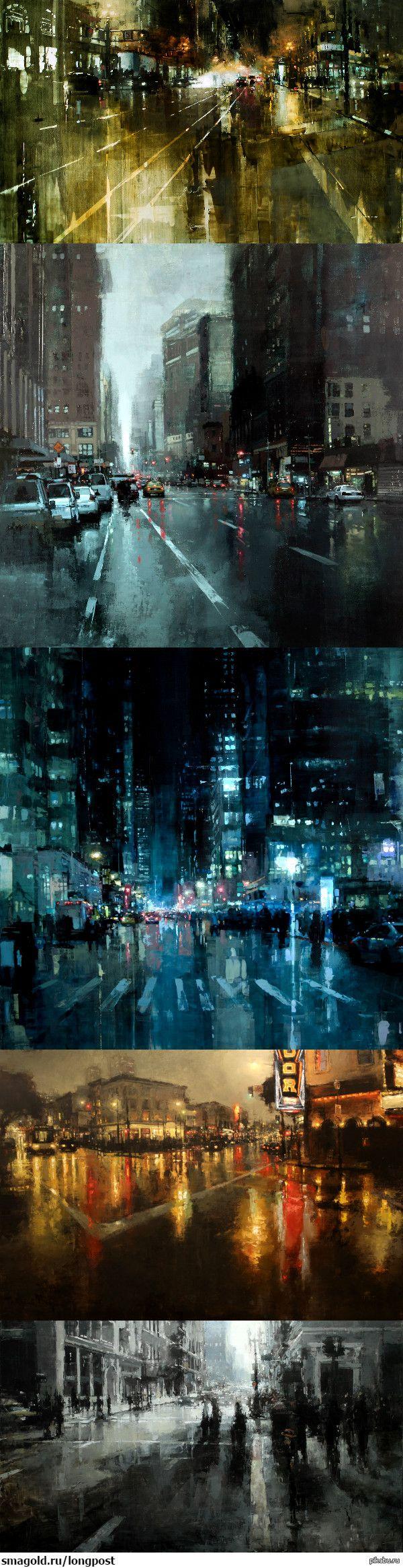 Jeremy Mann Источник - http://redrabbit7.com/  картинки, арт, рисунок, длиннопост