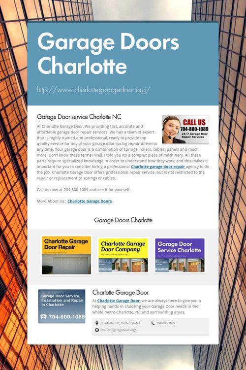 Garage Doors Charlotte