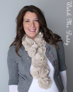 Felt scarf tutorial! http://watchmedaddy.blogspot.com/2011/12/felt-flower-scarf-tutorial.html
